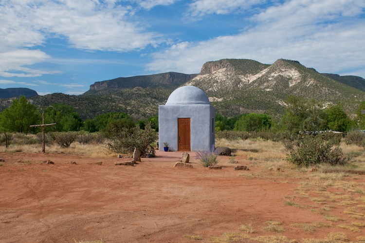 Abiquiu small house